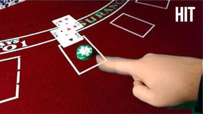 hit blackjack