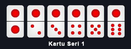 kartu domino ceme seri 1