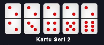kartu domino ceme seri 2